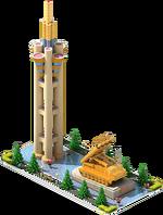 Gold SAM-68 Monument