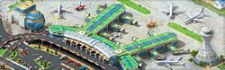 Megapolis Airport Background