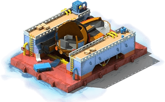 DSRV-22 Underwater Rescue Vehicle Construction