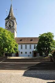RealWorld St. Peter Church in Zurich