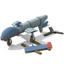 UAV-28 Unmanned Aircraft Construction