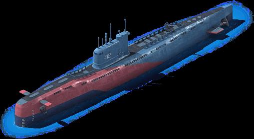 DS-37 Diesel Submarine L1