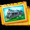 Unique Asset Steam Locomotive Card