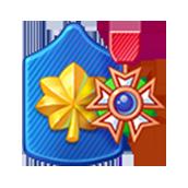 Badge Military Level 56