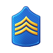 Badge Military Level 7
