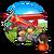 Contract Retro Airplane Photoshoot