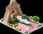Bronze Tsubame Locomotive Arch