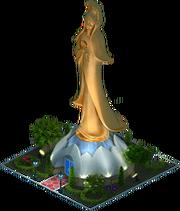 Kun Iam Statue (Night)