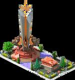 Bronze APC-24 Monument