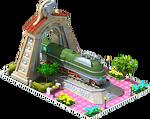 Silver Essen Locomotive Arch