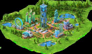 Vertical Farm Area