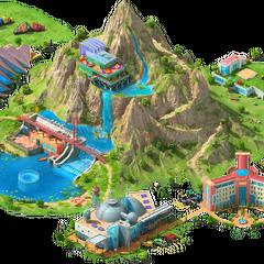 Artificial Mountain Area