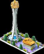 Gold APC-52 Monument