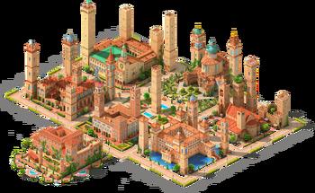 Medieval Manhattan Area