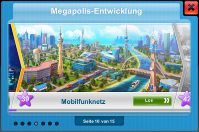 Megapolis Development (german)