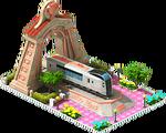 Bronze Narita Locomotive Arch