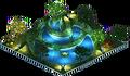 Meditation Pond (Night)
