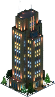 Montgomery Tower (Night)