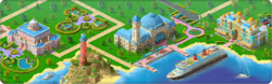 Island Cruise Background