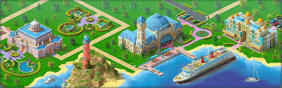 Island Cruise Background