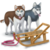 Contract Dog Sled Ride