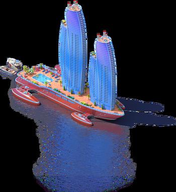 Skyscraper Ship L2