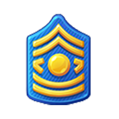 Badge Military Level 24