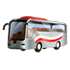 Contract Business Class Intercity Bus
