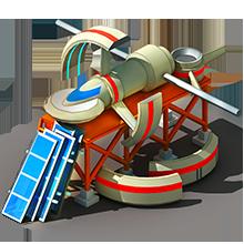 NS-62 Navigation Satellite Construction