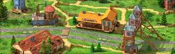 Gold Rush Background