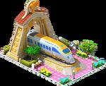 Gold Nippo Locomotive Arch