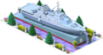 Silver LCS-56 Coastal Ship