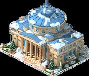 Romanian Athenaeum (Winter)
