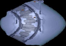 Snowville Track Curve NS 2