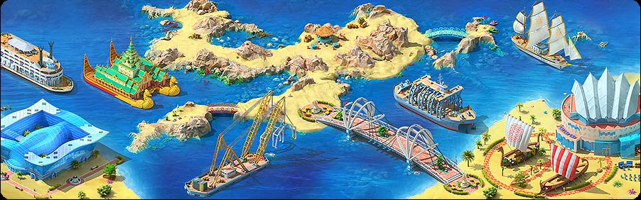 Shipwreck Island Background