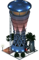 Modern Water Tower (Night)