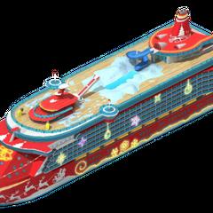 Premium Class Christmas Cruise Ship (Level 1)