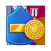 Badge Military Level 46