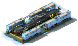 NS-12 Nuclear Submarine Construction