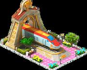 Gold Hanvit Locomotive Arch