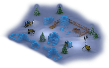 Ice Fortress Construction