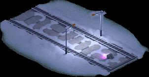 Snowville Track Straight Long EW