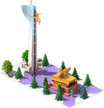 Gold SAM-35 Monument