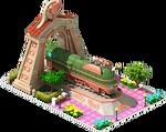 Bronze Essen Locomotive Arch