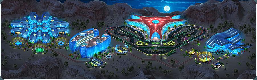 Las Megas Grand Prix Background