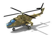AH-21 Attack Helicopter L1