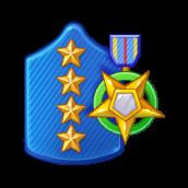 Badge Military Level 97