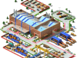 Wood Processing Plant (Industrial Complex)