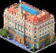 Boscolo Hotel in Budapest