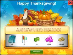 Thanksgiving 2016 Gift